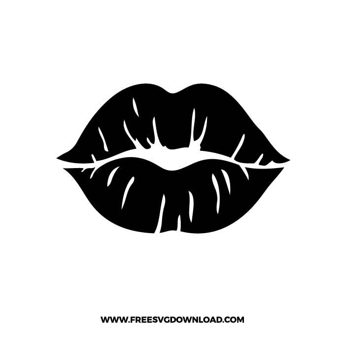 Lips SVG & PNG free cut files